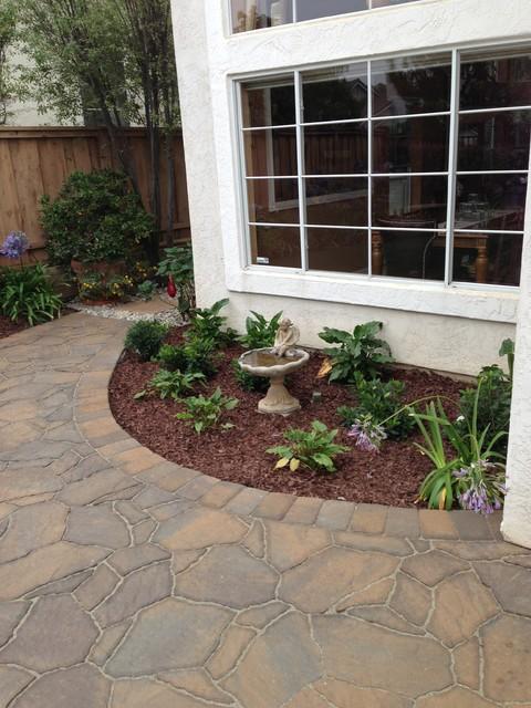 Carmel Valley - Belgard Pavers - Mega Arbel patio - Traditional - Landscape - san diego - by San ...