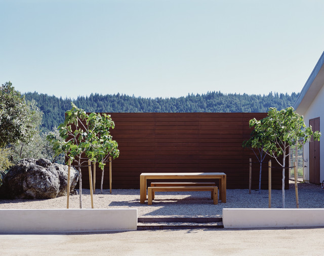 Cary Bernstein Architect Ridge House modern-landscape