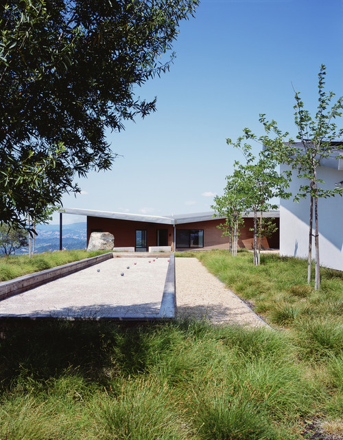 Cary Bernstein Architect Ridge House contemporary-landscape