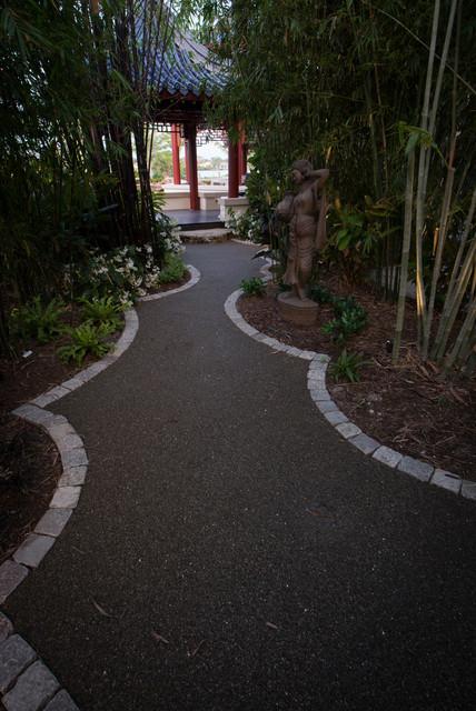 Casey Key Pagoda Garden asian-landscape