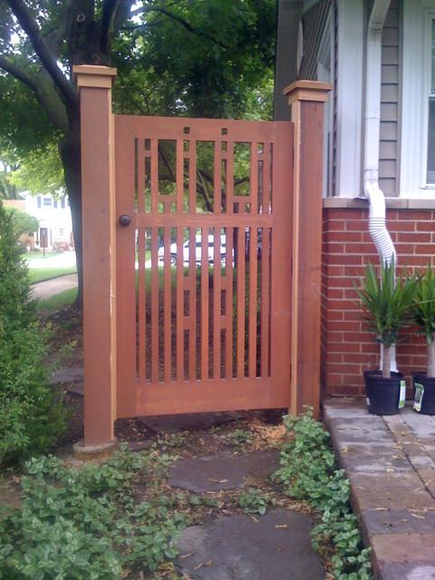 cedar garden gate