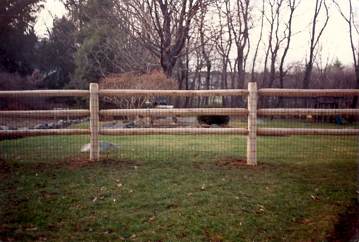 Picture of: Post And Rail Fence Houzz