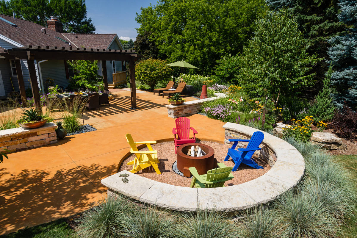 Southwestern Backyard - Cedarburg