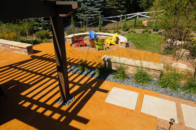 Southwestern Flair eclectic-deck