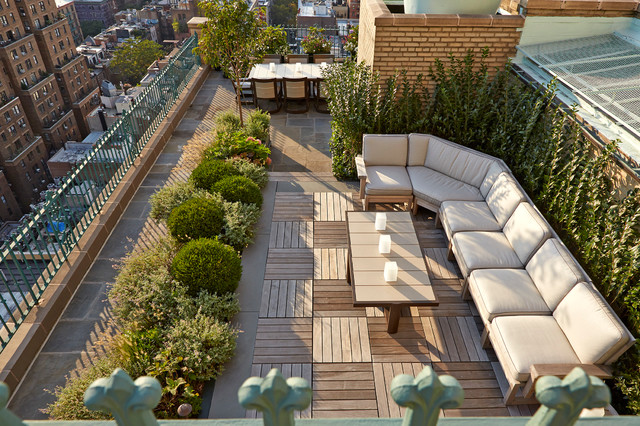 CENTRAL PARK WEST ROOFTOP contemporary-landscape - CENTRAL PARK WEST ROOFTOP - Contemporary - Landscape - New York - By
