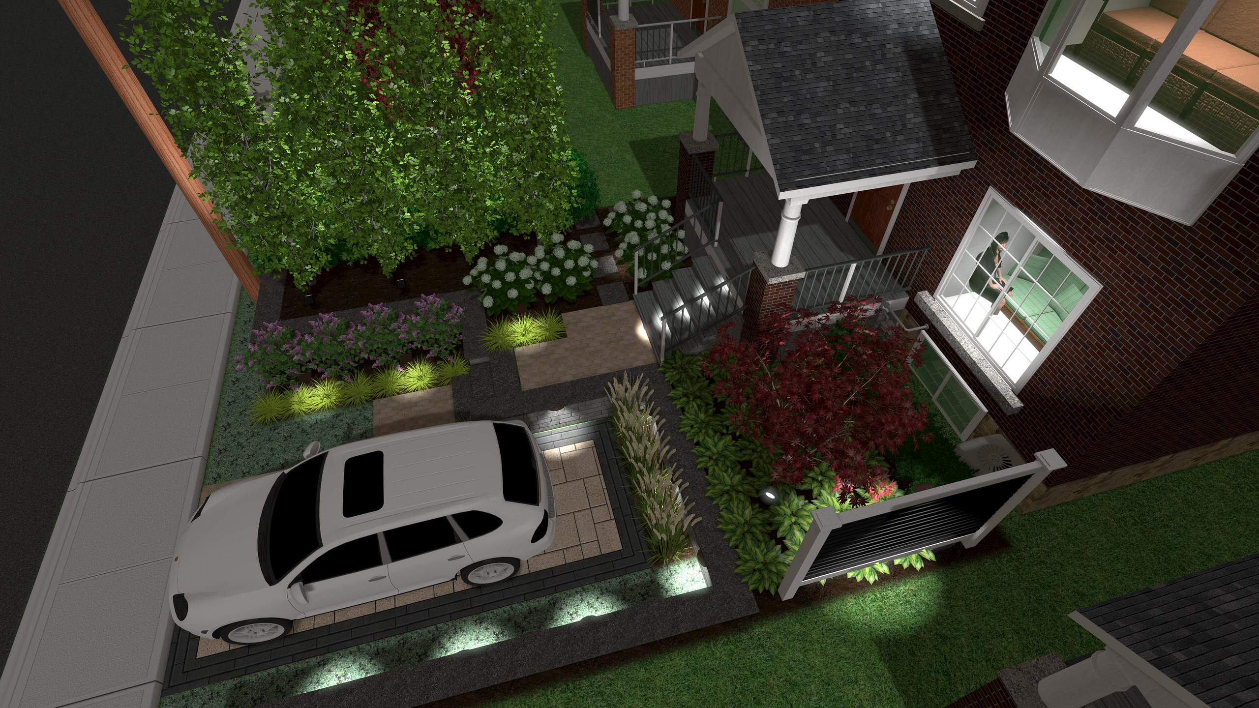 Central Toronto Front Yard Makeover