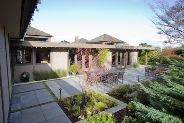 Century 21 Idea House Garden Modern Landscape Seattle by