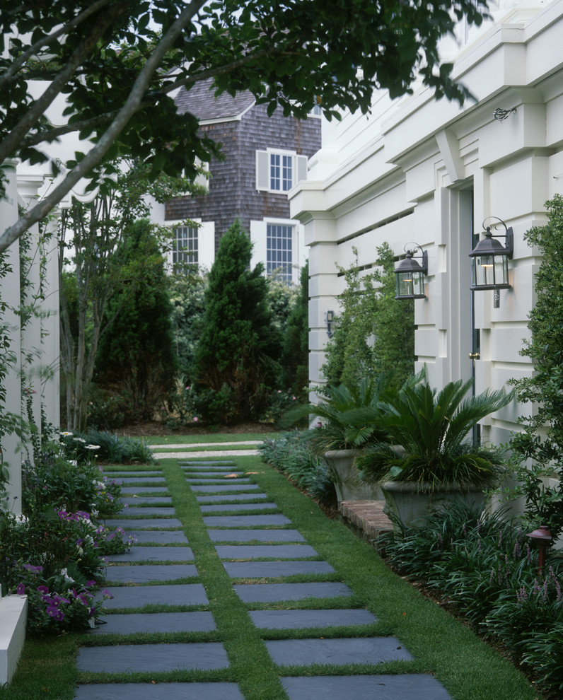 Inspiration for a traditional shade landscaping in Other.