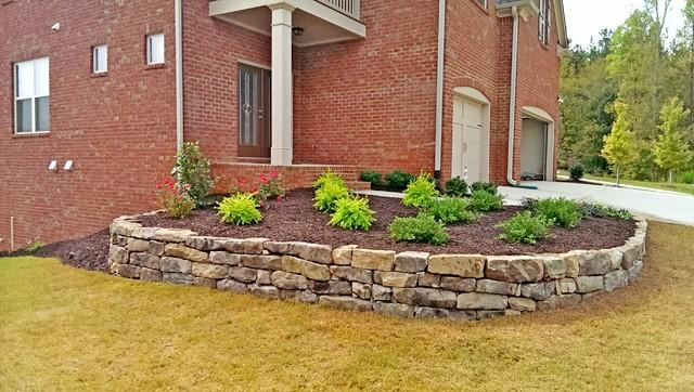 Champions Run Subdivision Suwanee Ga Traditional Garden Atlanta By Greenshooz Landscaping Houzz Au