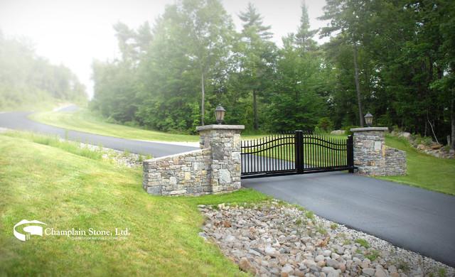 Champlain Stone contemporary-landscape
