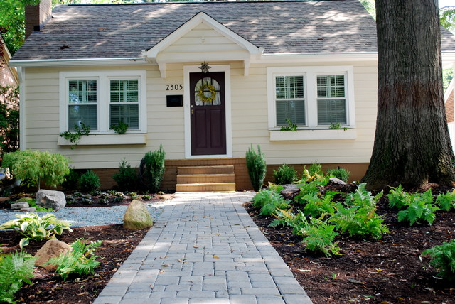 Chantilly Bungalow Project Traditional Landscape Charlotte