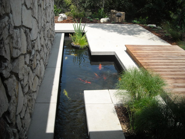 contemporary landscape by Behr Construction Company