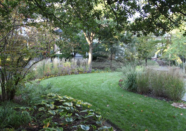 Chevy Chase Garden traditional-landscape