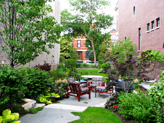Chicago residence traditional landscape chicago by for Houzz landscape architects
