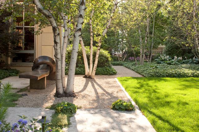 Chicago urban garden contemporary landscape chicago for Hoerr schaudt landscape architects