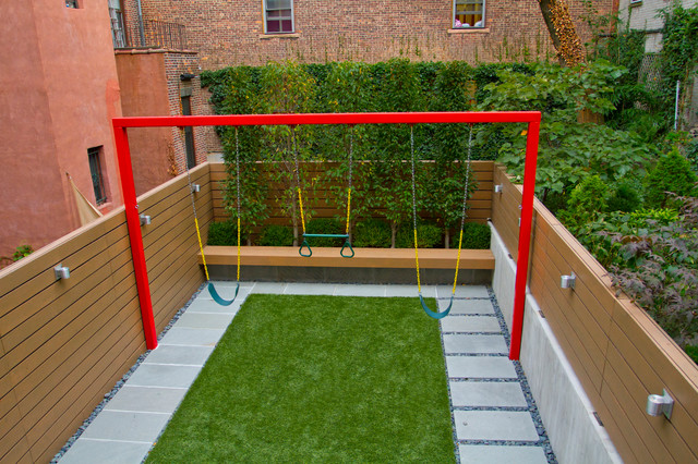 Child friendly city garden for Child friendly garden designs