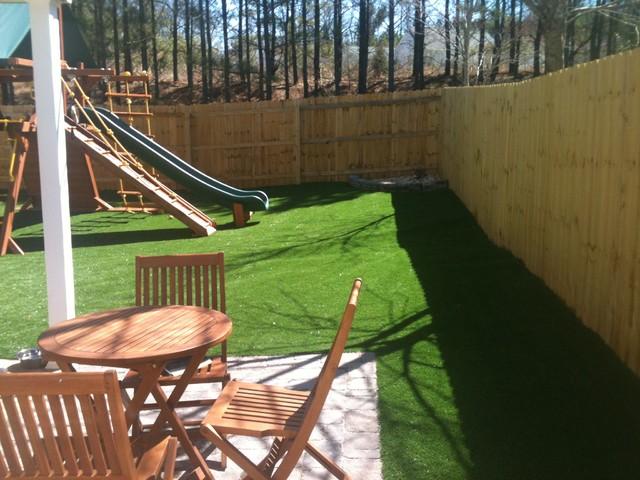 Dog Play Area In Backyard : Backyard Dog Play Area httpwwwhouzzcomphotos3194964Children