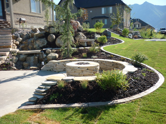 Chris jensen landscaping in utah landscaping salt lake for Landscape design utah