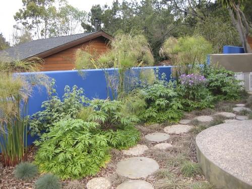 Eclectic Landscape Design By San Luis Obispo Landscape Architect Jeffrey  Gordon Smith Landscape Architecture Anybody Else Using Paint In Their Garden ?