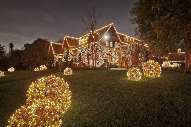 Christmas Lights - Ahmanson Estate Project – Hancock Park ...