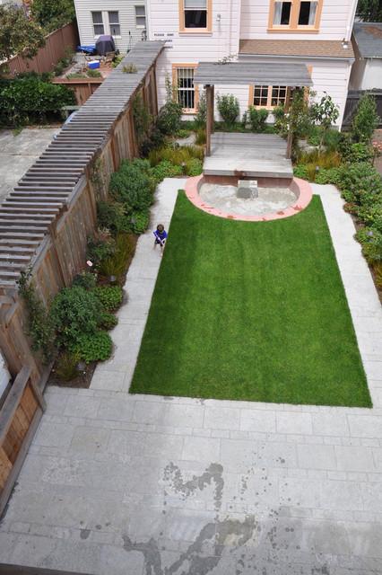 City Family Garden modern-landscape