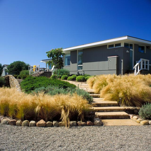 clarkson beach house beach style landscape santa