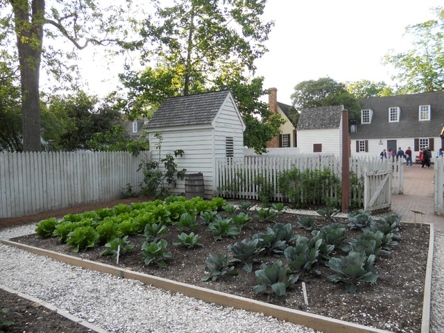 Classic Garden Styles At Colonial Williamsburg