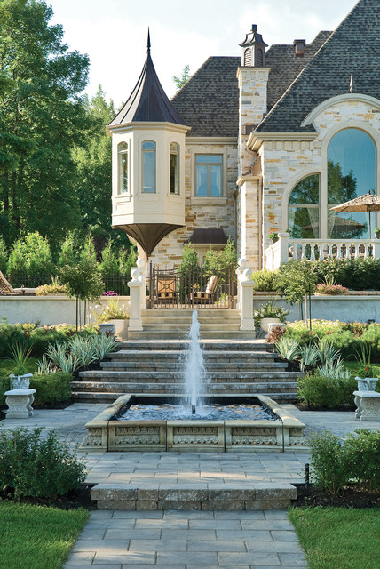 Classical italian garden traditional landscape for Houzz landscape architects