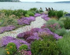 Coan Waterfront Landscape, Camano Island, WA traditional-landscape