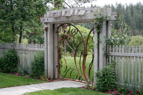 30 Peculiar Garden Gate Designs Impressive Magazine