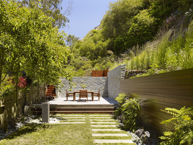 Cole Valley Hillside modern landscape
