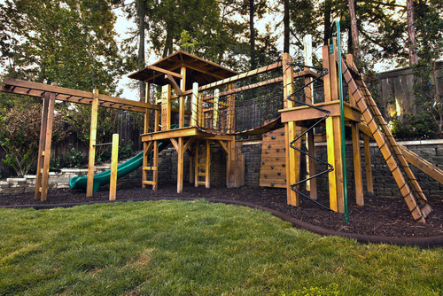 ... grandchildren, nieces or nephews to be more active and get more fresh  air is to create an appealing, exciting play area they will not be able to  resist. - Backyard Play Areas That Encourage Active Play INSTALL-IT-DIRECT