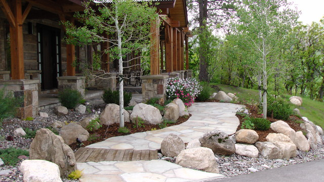 Colorado Residence Rustic Landscape Denver By Land