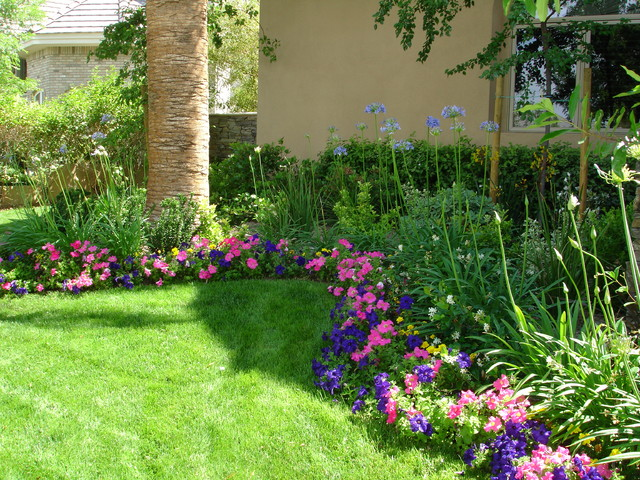 Colorful Garden Landscape Las Vegas By Taylormade
