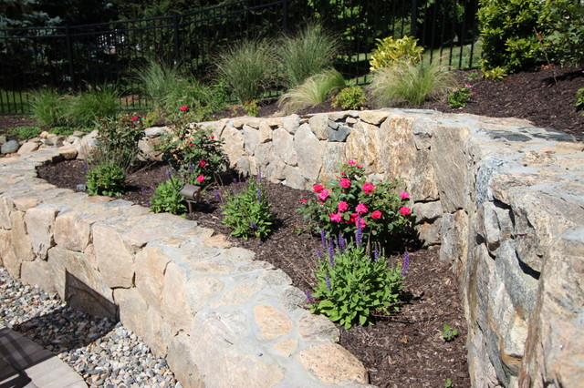 Mulch Entire Backyard : manzer s landscape design development landscape contractors