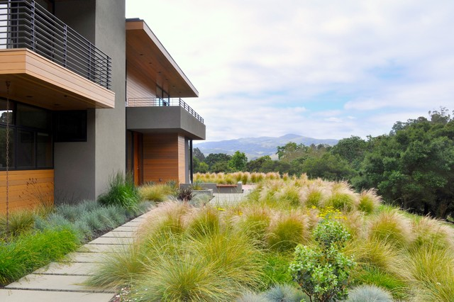 Landscaping Around Tall Deck : Landscape architects designers