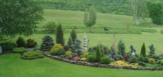 Conifer Garden   Danby   Eclectic   Landscape   Boston   By ...