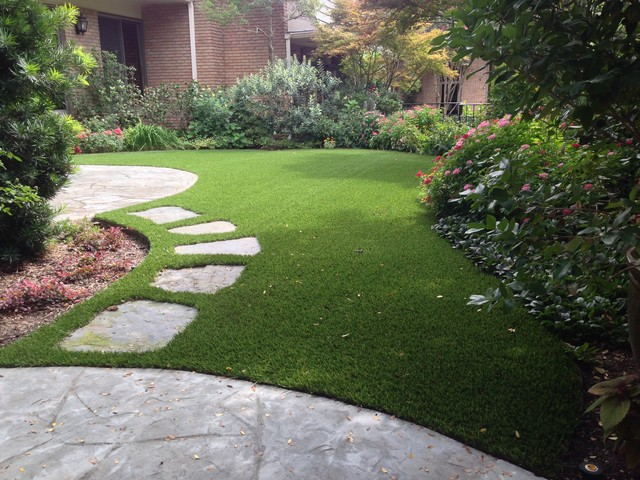 This is an example of a landscaping in Dallas.