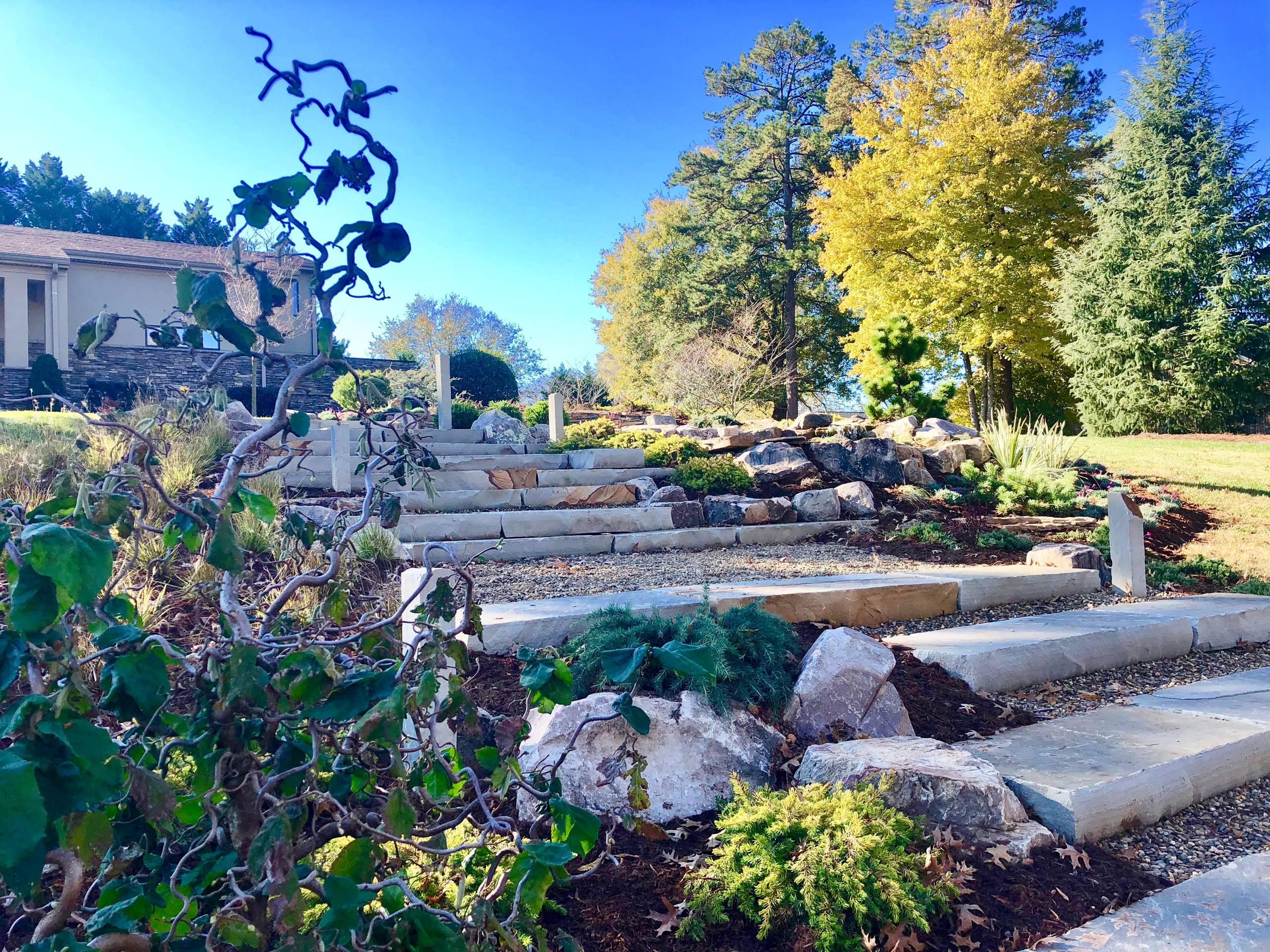 Contemporary Asian Fusion Garden