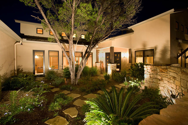 Contemporary Bungalow Contemporary Landscape other