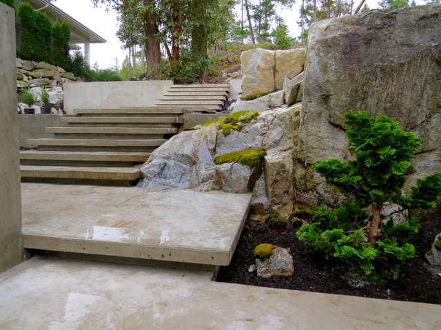 Design ideas for a landscaping in Vancouver.