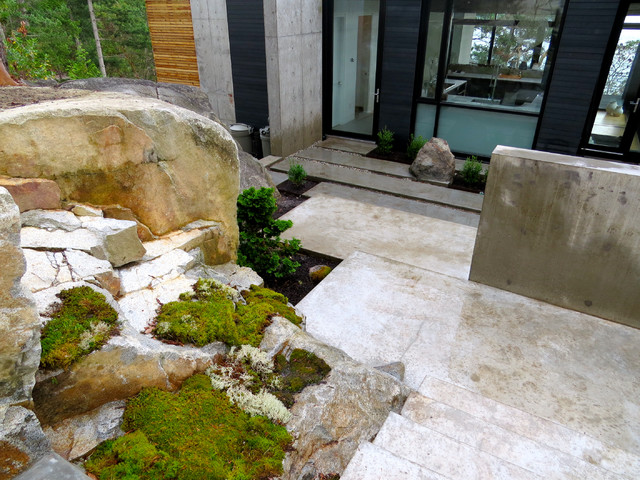 This is an example of a landscaping in Vancouver.