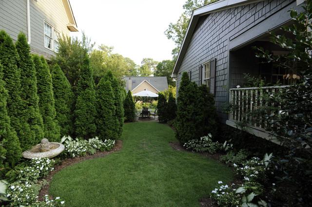 Contemporary Cottage Garden Traditional Garden