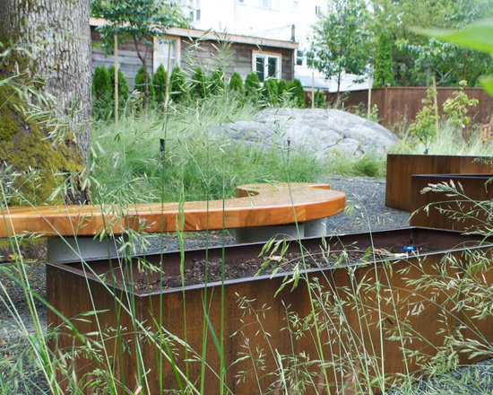 Ornamental grass raised bed home design ideas pictures for Ornamental grass bed