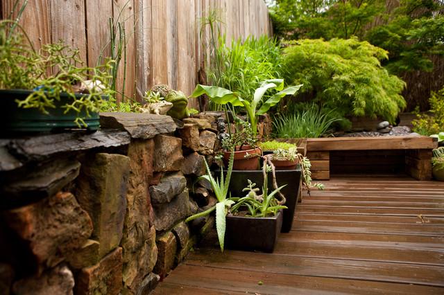 Contemporary Eclectic Japanese Inspired Garden Asian Garden Part 6