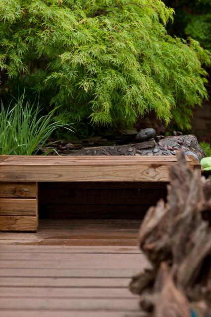 Contemporary Eclectic Japanese Inspired Garden Asian Garden Part 86