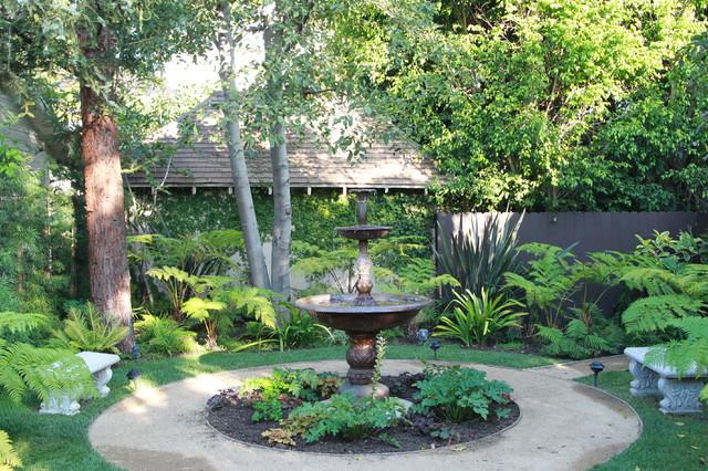 Contemporary English Garden Mediterranean Landscape