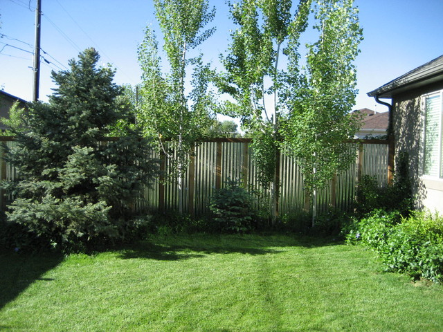 contemporary fence - Contemporary - Garden - Salt Lake ...