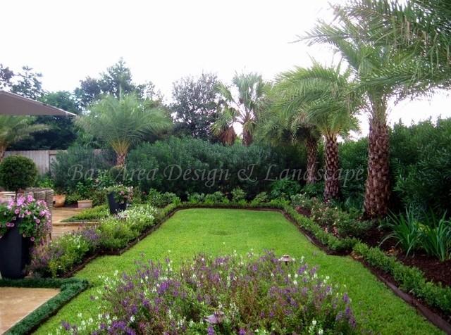 Contemporary gardens traditional landscape houston for Garden design houston
