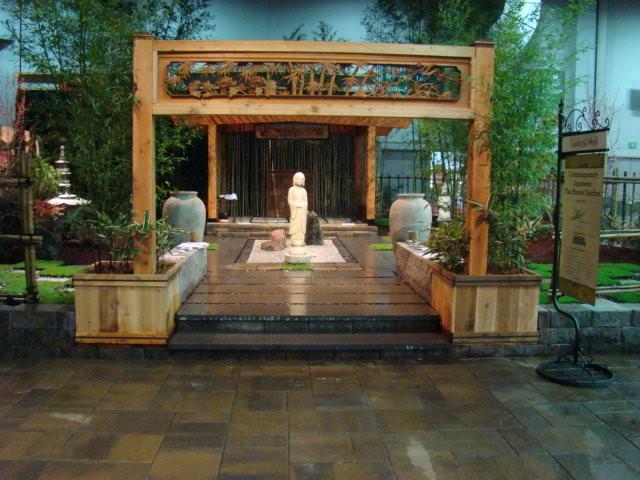 Contemporary Japanese Tea House Garden 2 Asian